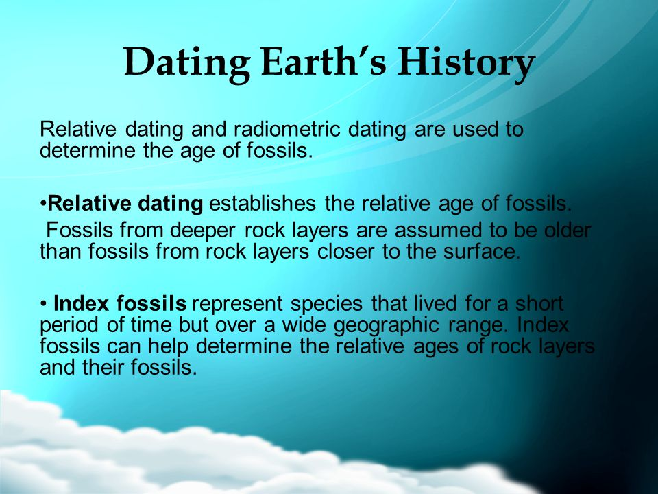 Dating Earth's History