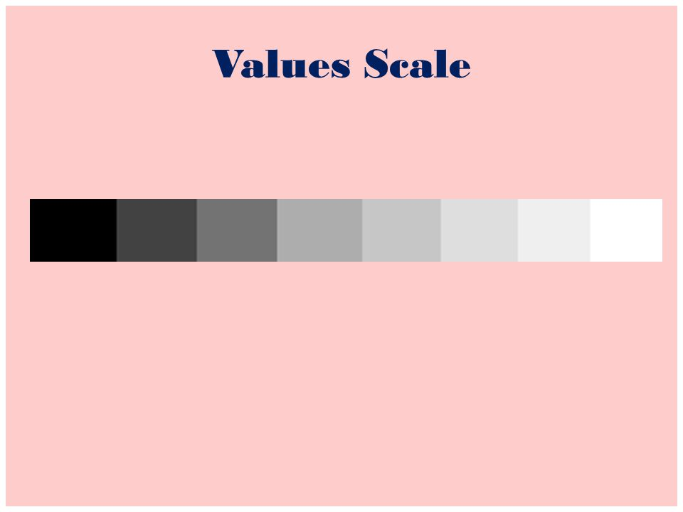 Values Scale