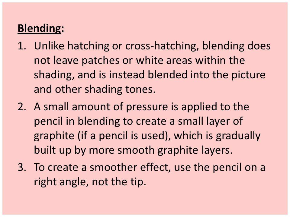 Blending: