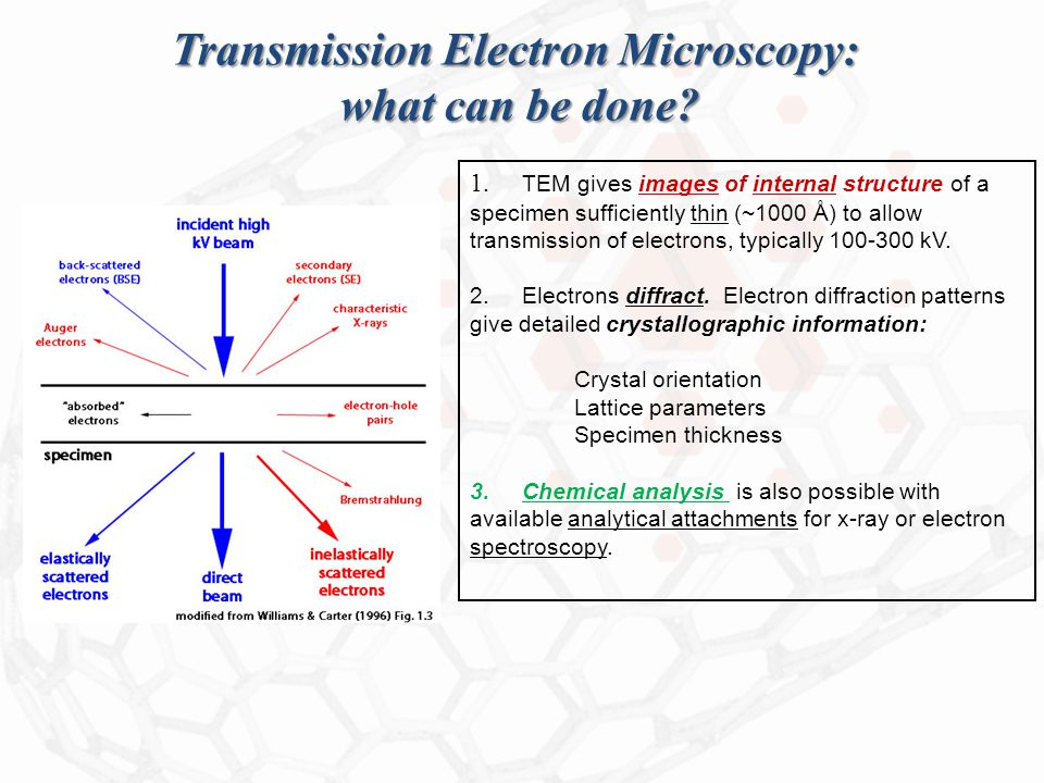 Transmission Electron Microscopy: