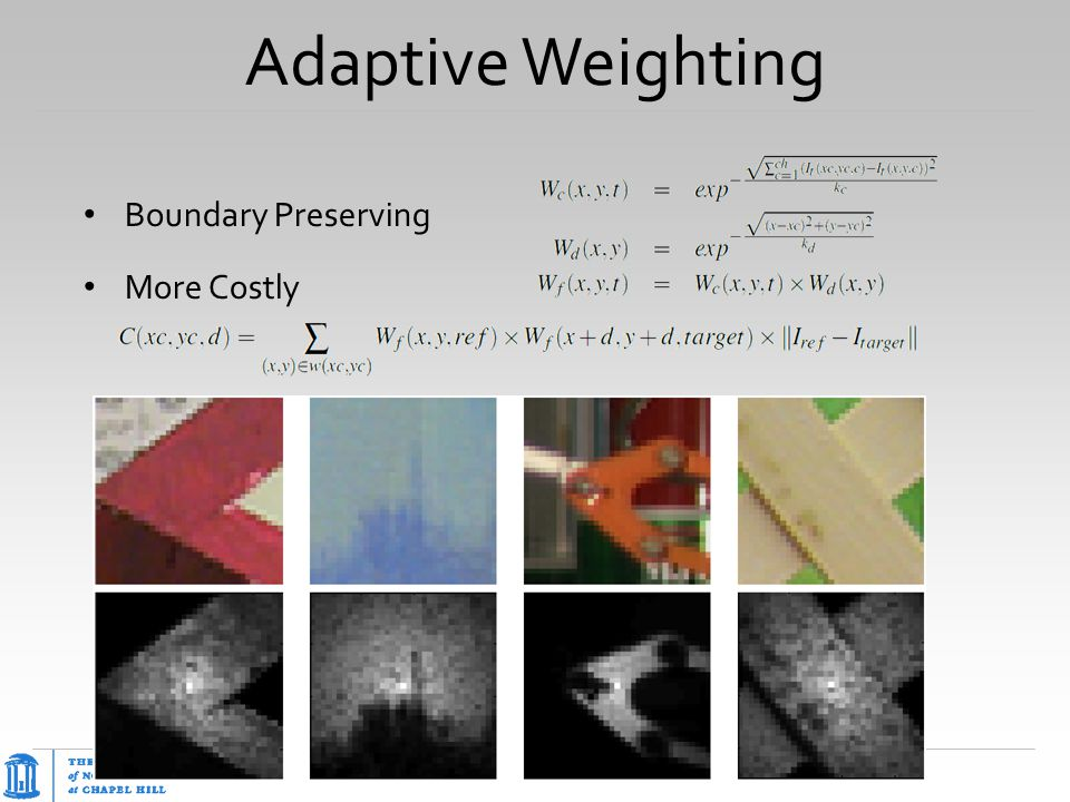 Adaptive Weighting Boundary Preserving More Costly