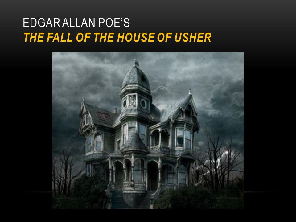 Gothic setting and characters edgar allan poe s fall house