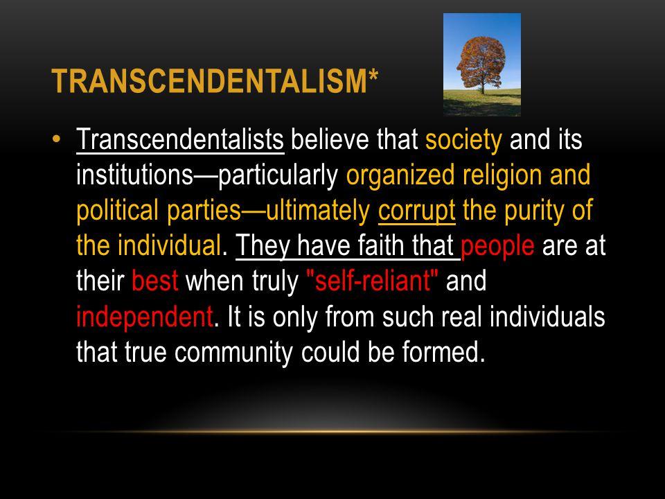 Transcendentalism*