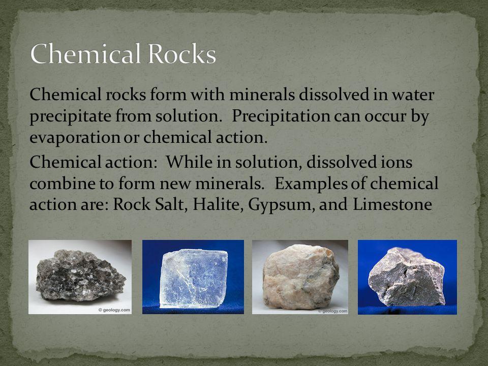 Chemical Rocks
