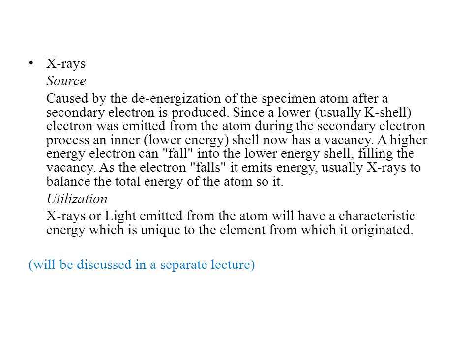 X-rays Source.