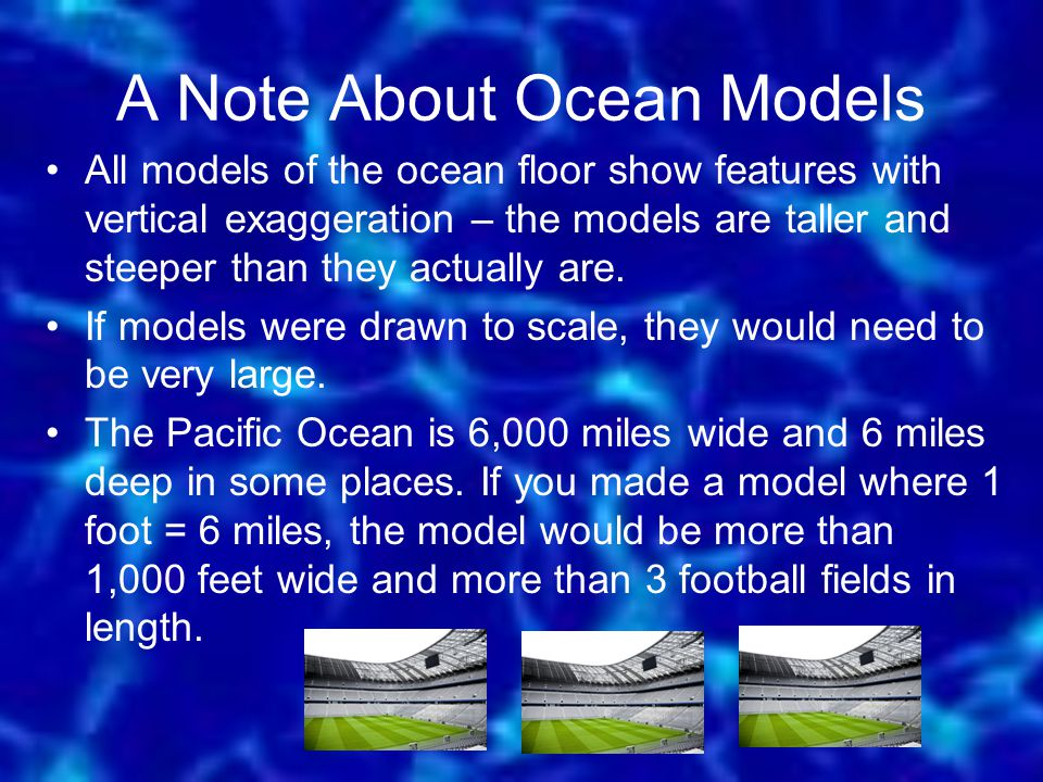 A Note About Ocean Models