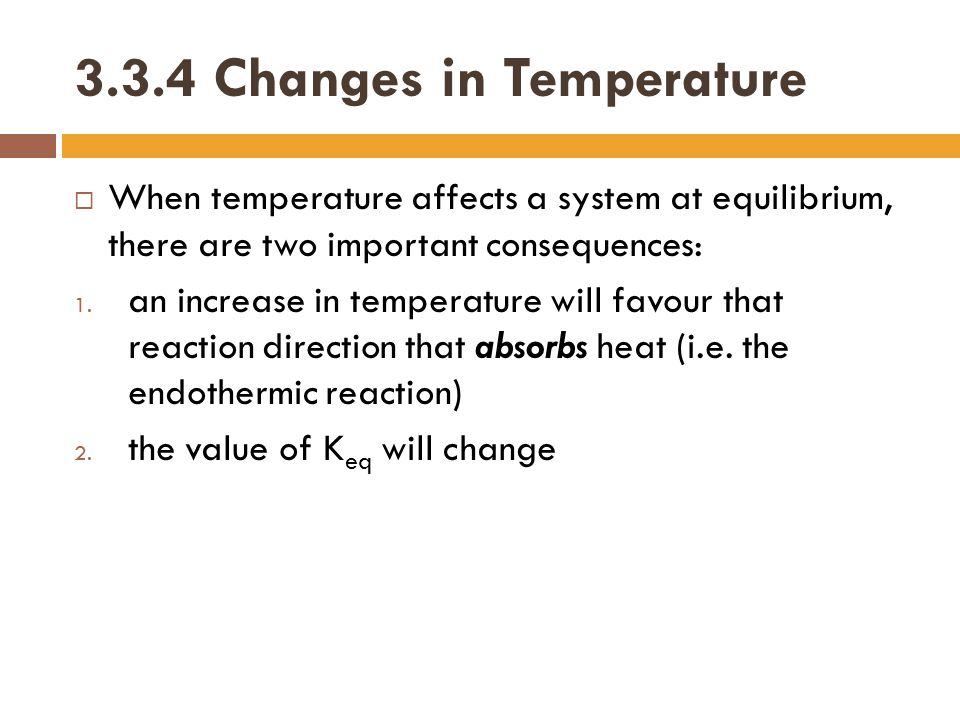 3.3.4 Changes in Temperature