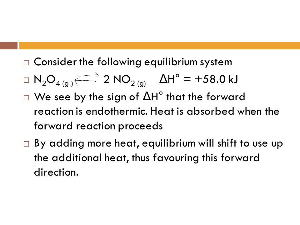Consider the following equilibrium system