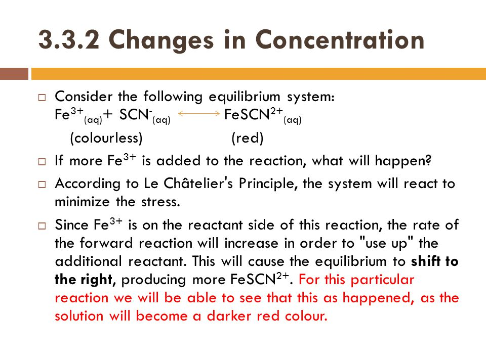 3.3.2 Changes in Concentration