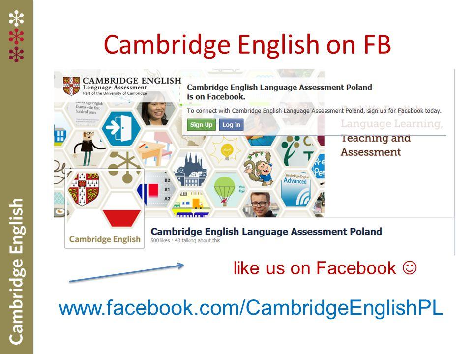 Cambridge English on FB