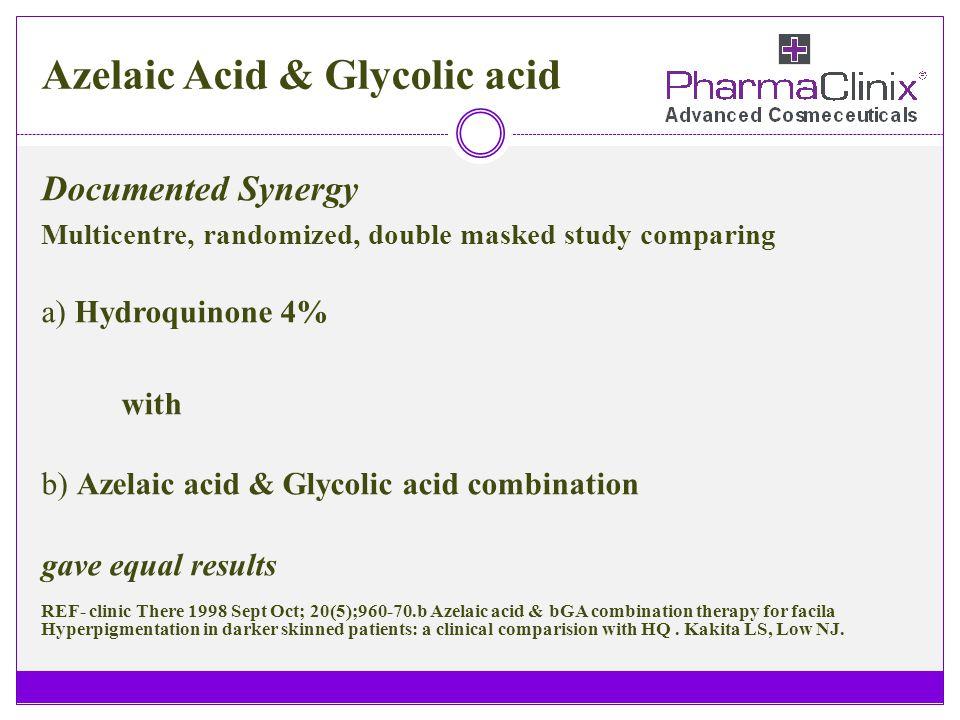 Azelaic Acid & Glycolic acid