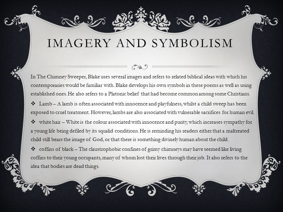 Imagery and symbolism