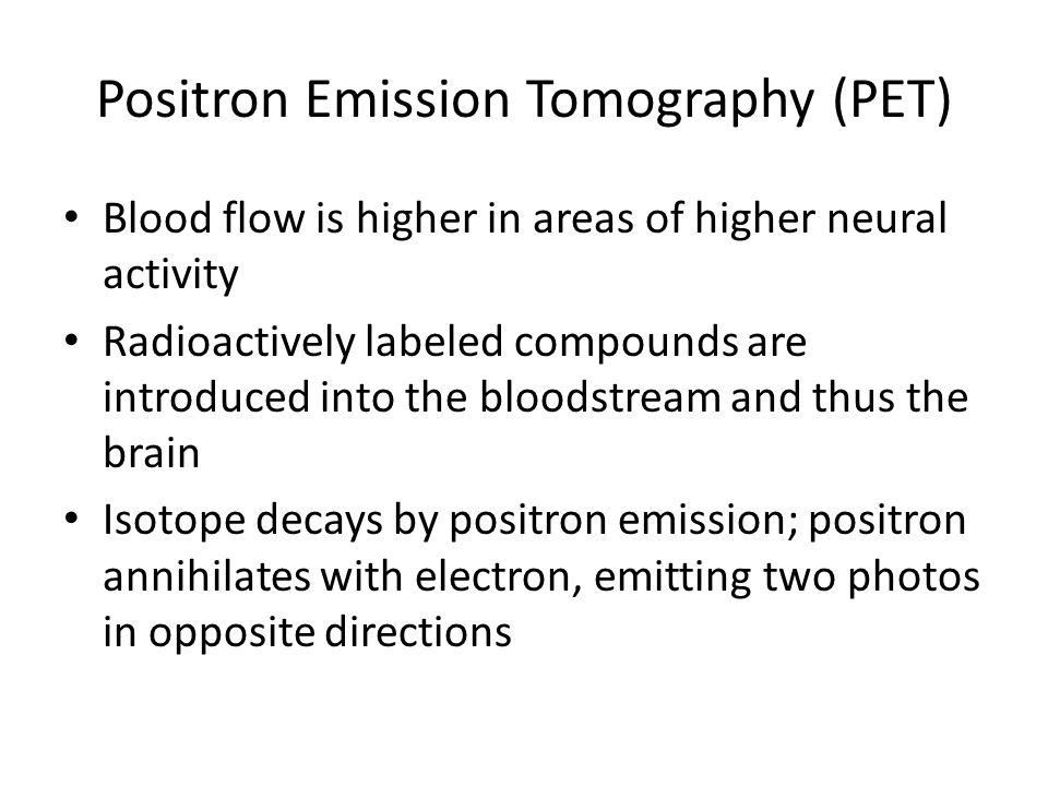 Positron Emission Tomography (PET)