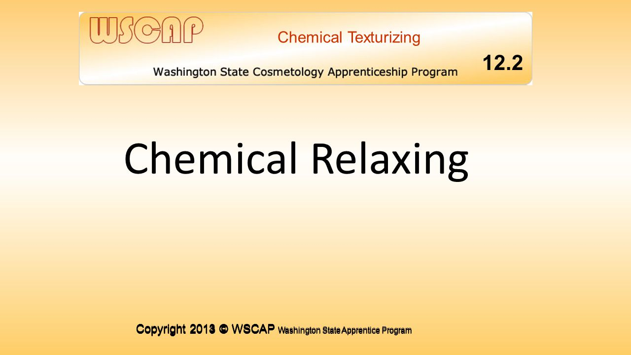 Chemical Relaxing 1.4 12.2 1.4 1.4 1.4 1.4 COMMUNICATING FOR SUCCESS