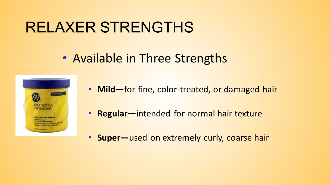 RELAXER STRENGTHS Available in Three Strengths
