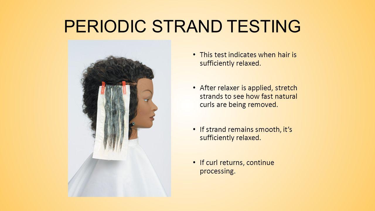 PERIODIC STRAND TESTING