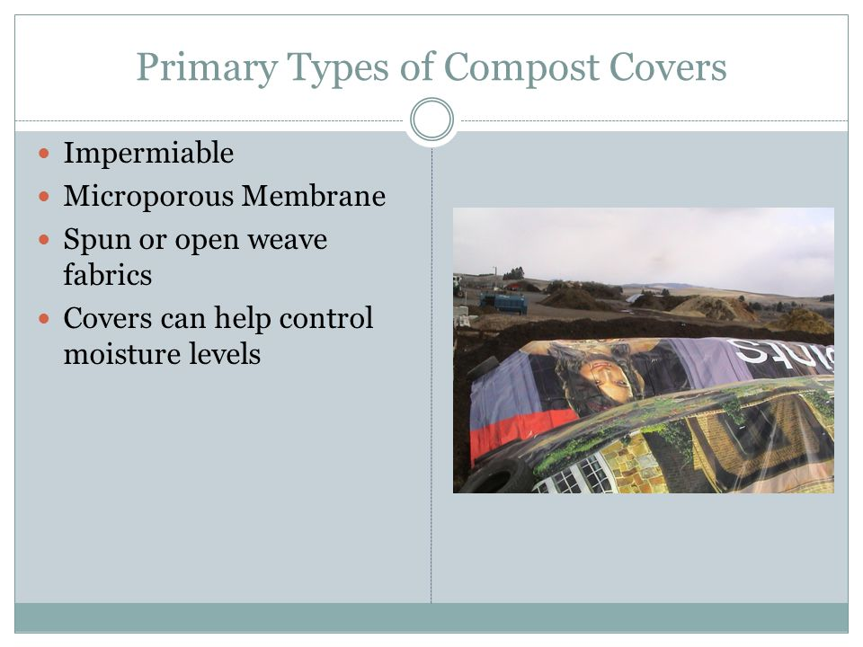 Primary Types of Compost Covers