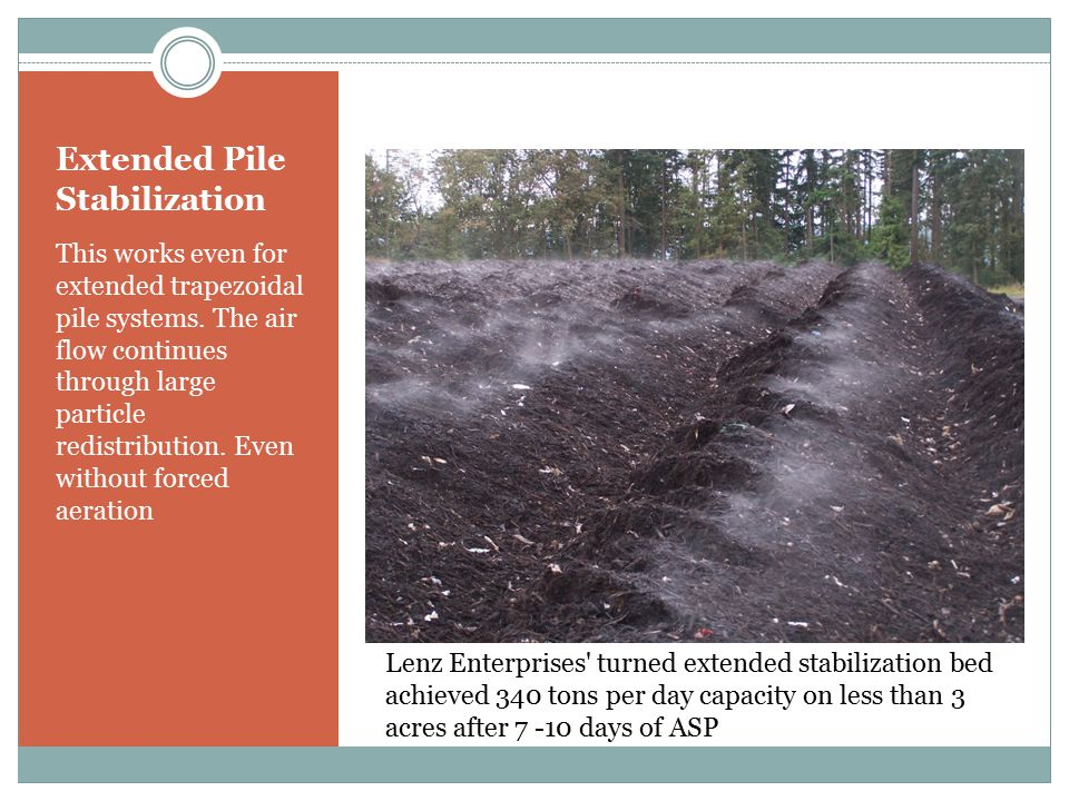 Extended Pile Stabilization