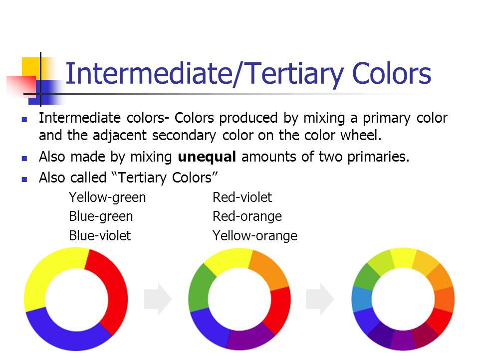 Intermediate/Tertiary Colors