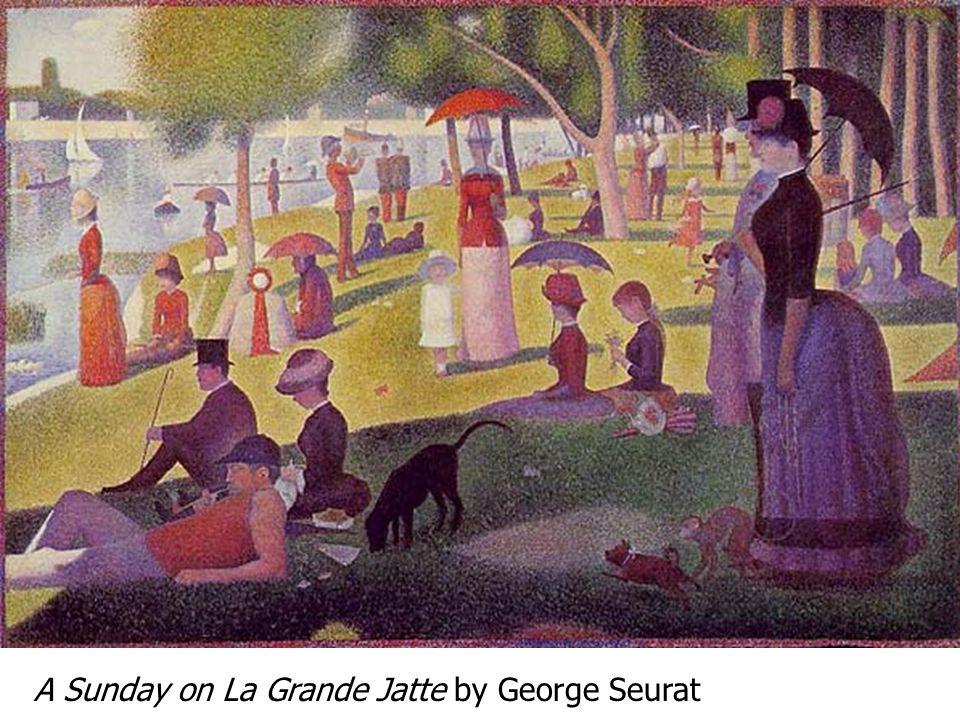 A Sunday on La Grande Jatte by George Seurat