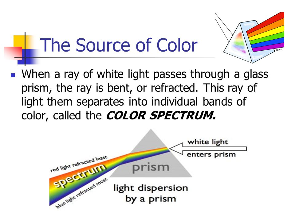 The Source of Color