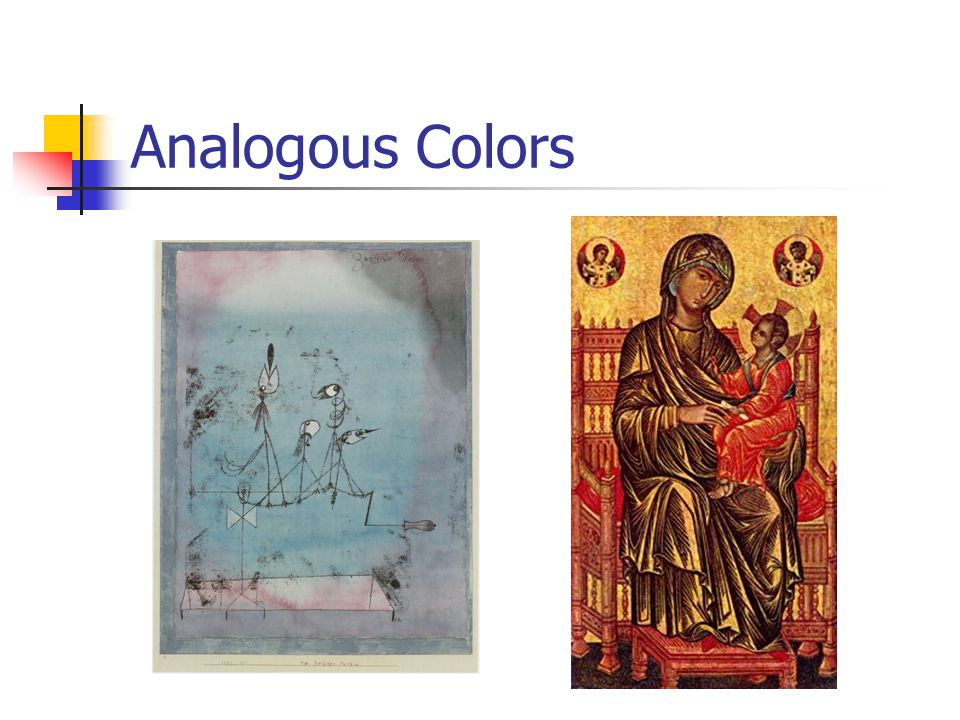 Analogous Colors