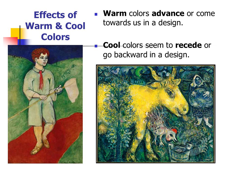 Effects of Warm & Cool Colors