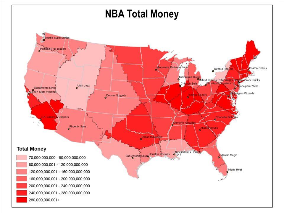 NBA Total Money