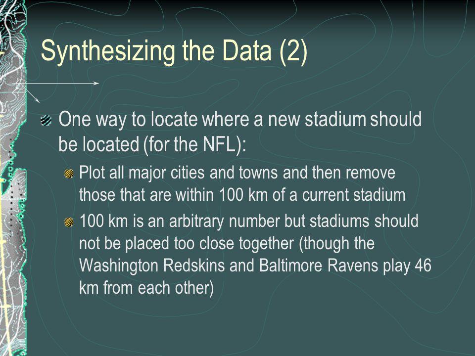 Synthesizing the Data (2)