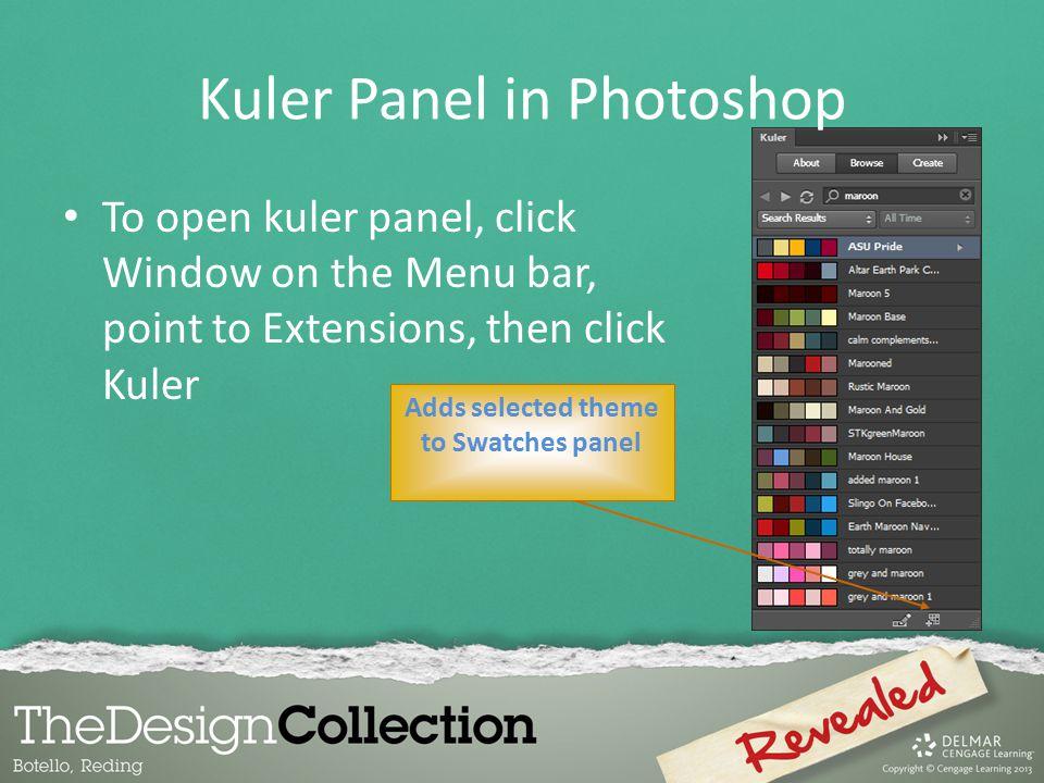 Kuler Panel in Photoshop
