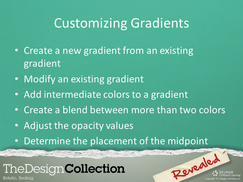 Customizing Gradients