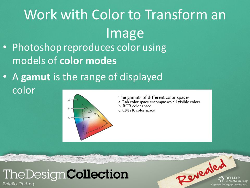 Work with Color to Transform an Image