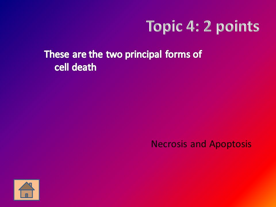 Necrosis and Apoptosis