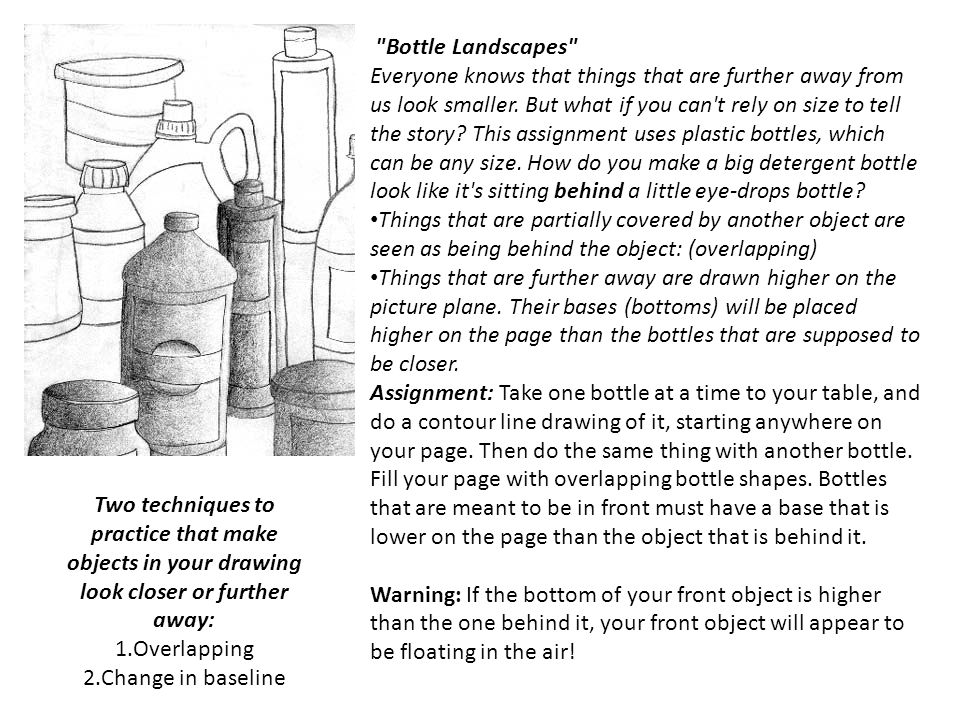 Bottle Landscapes