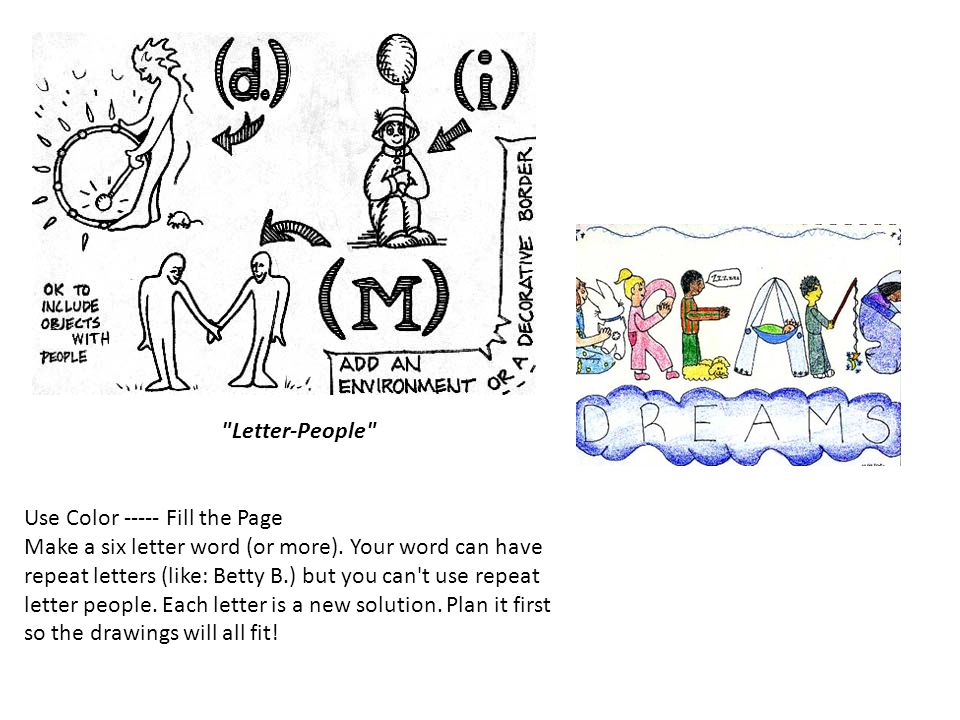 Letter-People
