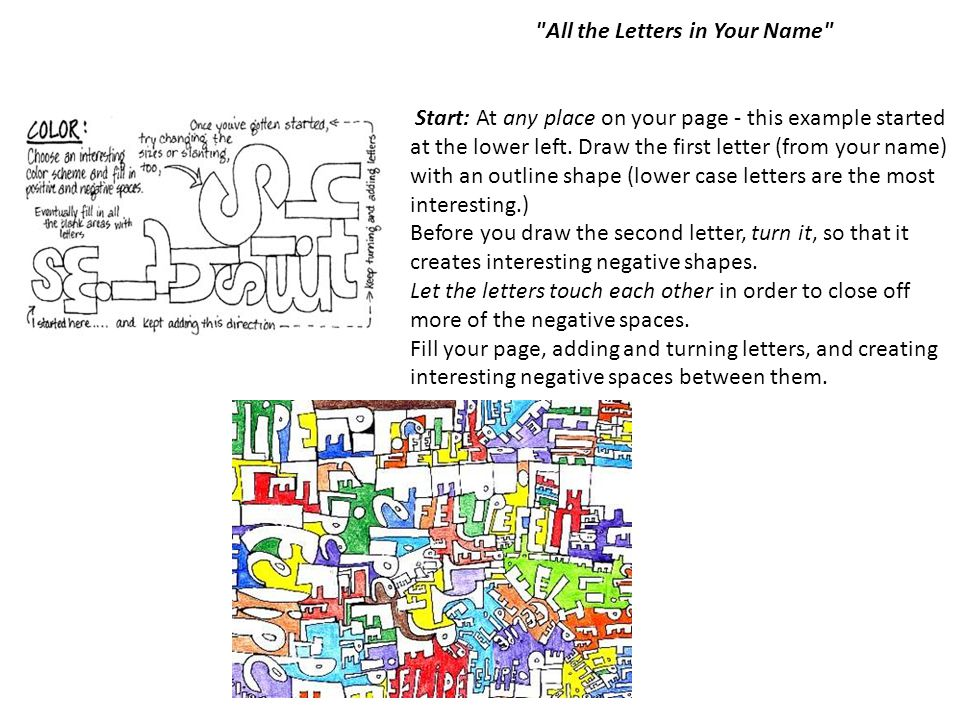 All the Letters in Your Name