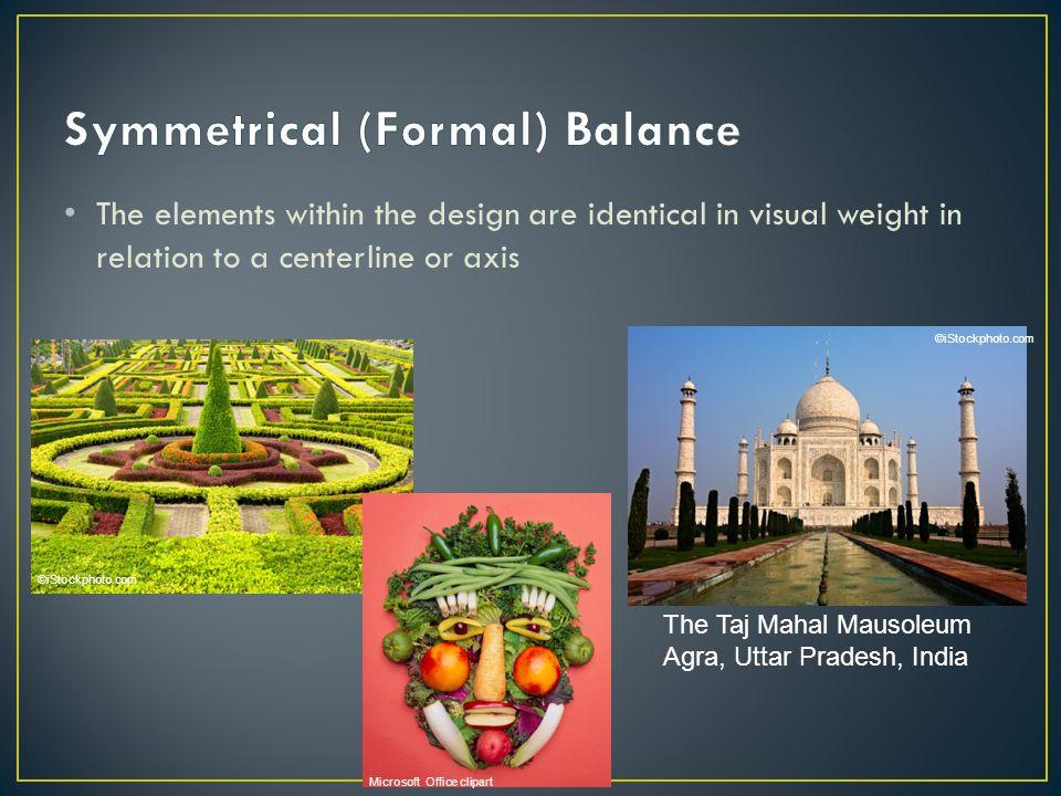 Symmetrical (Formal) Balance