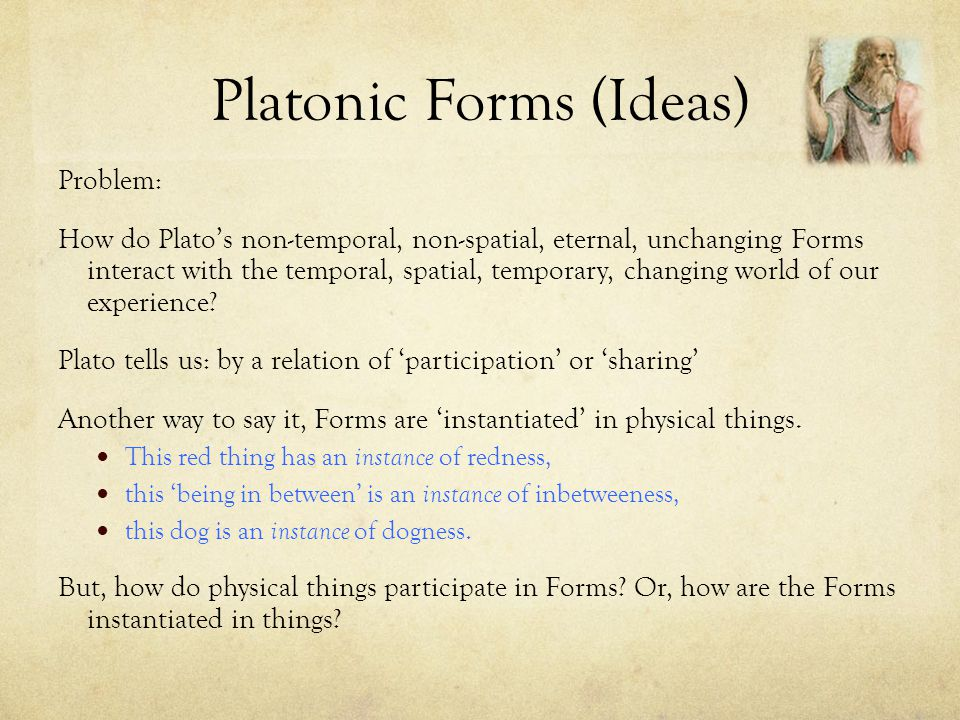 Platonic Forms (Ideas)