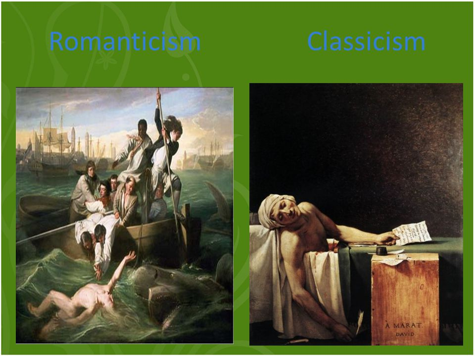 Romanticism Classicism