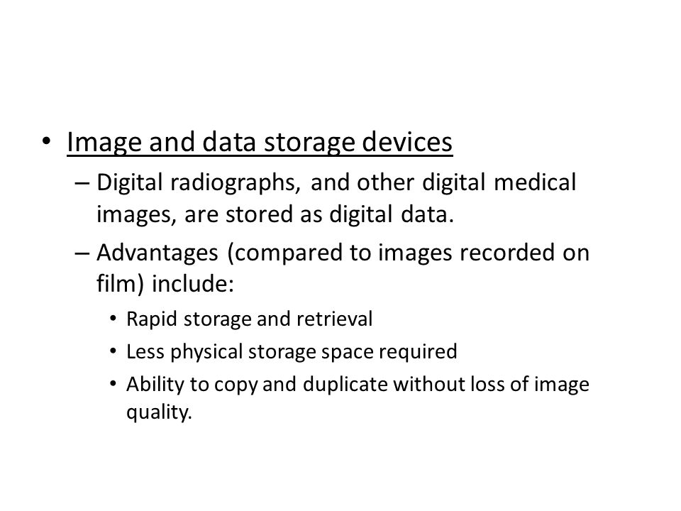 Image and data storage devices