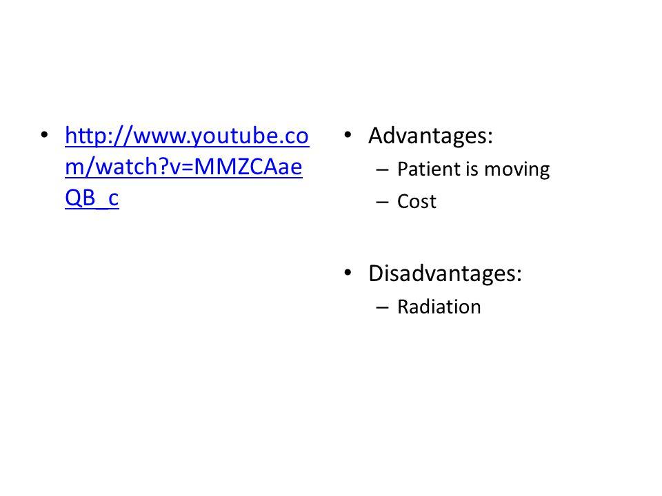 http://www.youtube.com/watch v=MMZCAaeQB_c Advantages: Disadvantages: