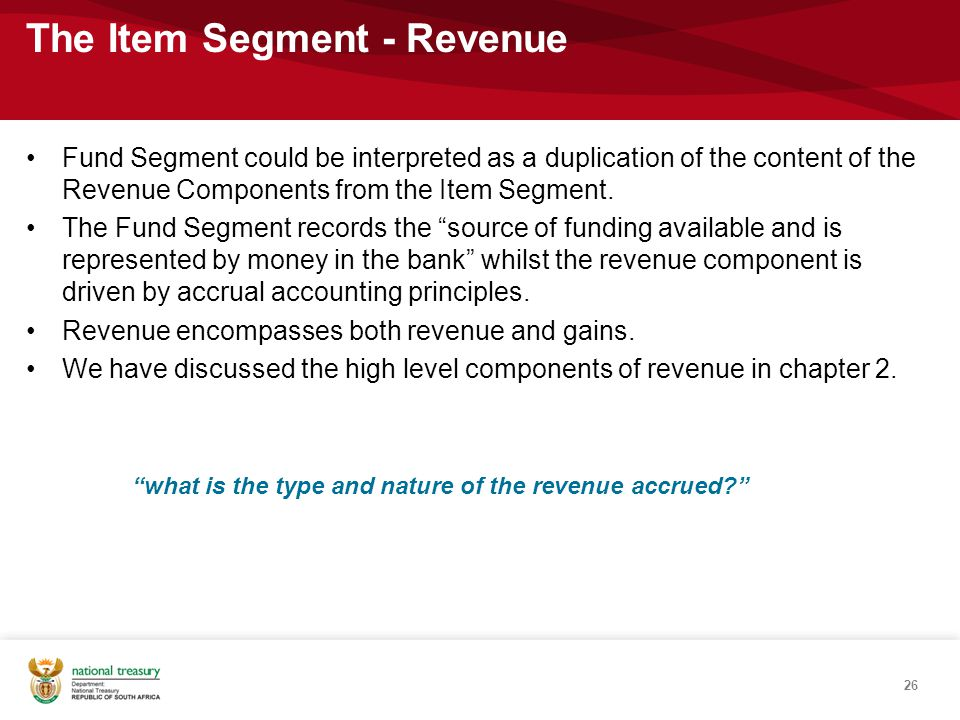 what is the type and nature of the revenue accrued