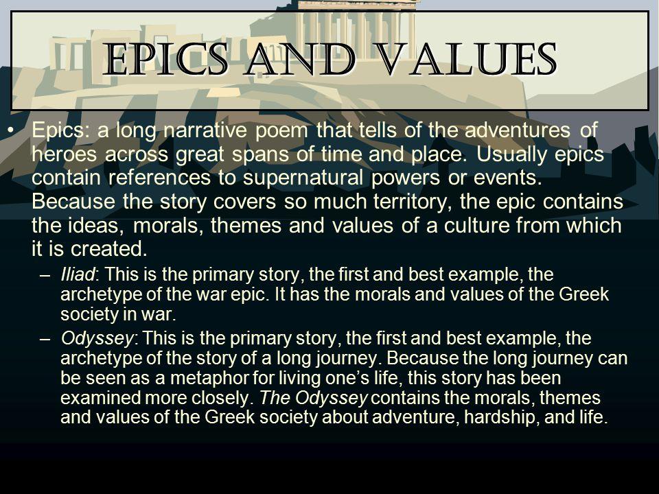 Epics and Values