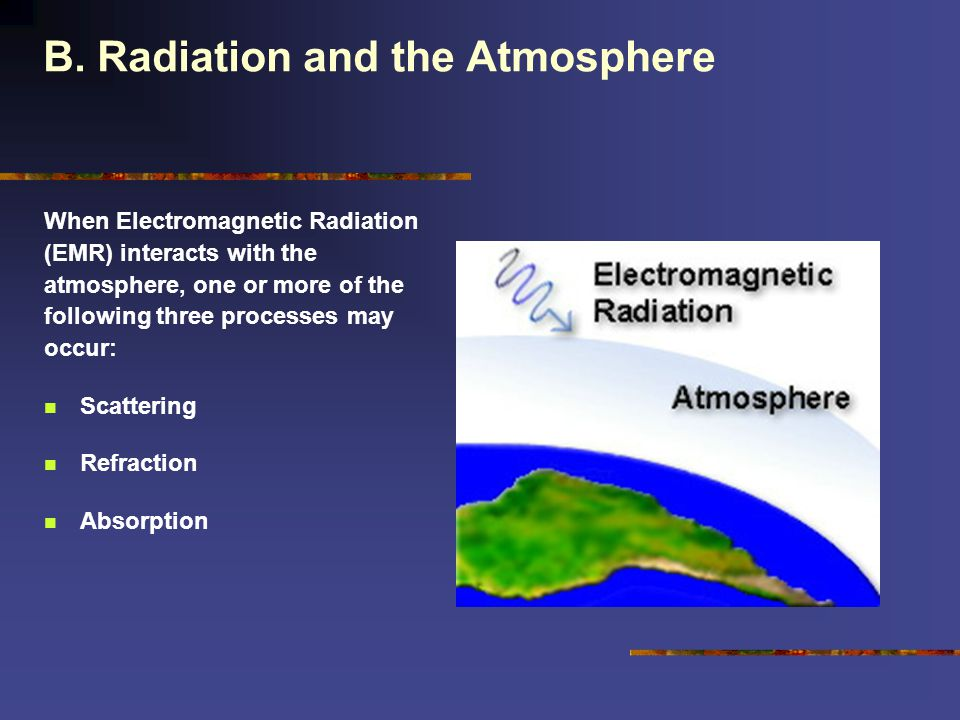 B. Radiation and the Atmosphere