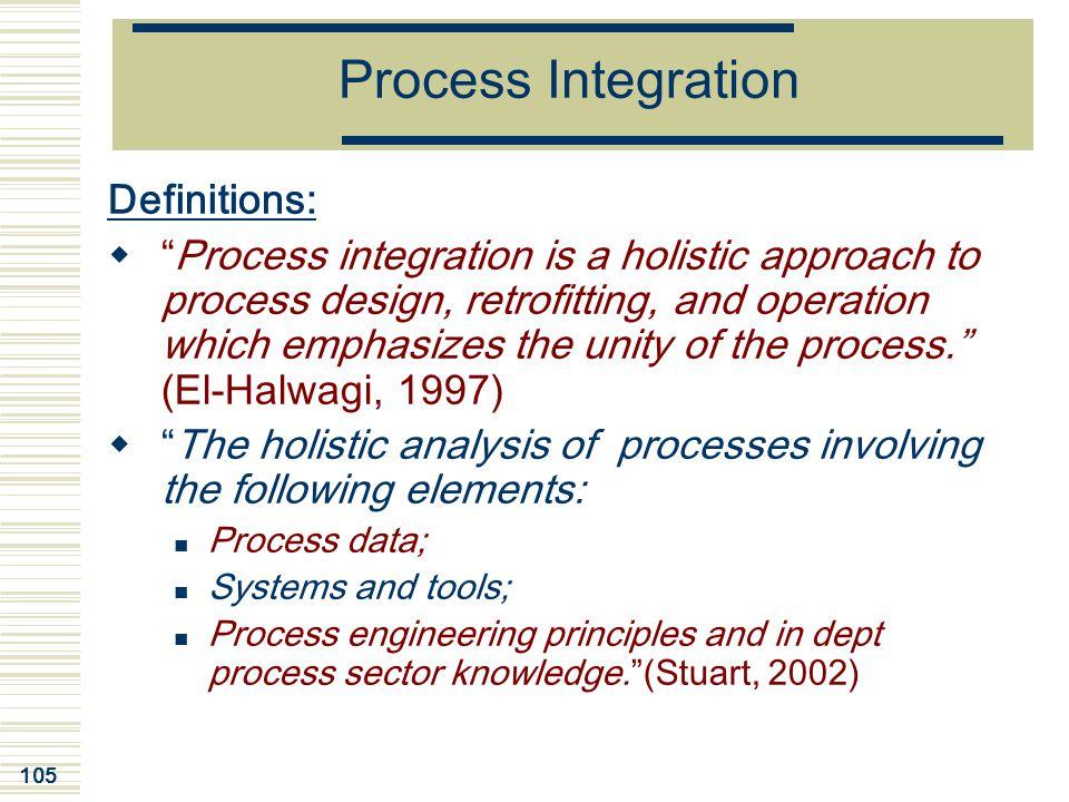 Process Integration Definitions: