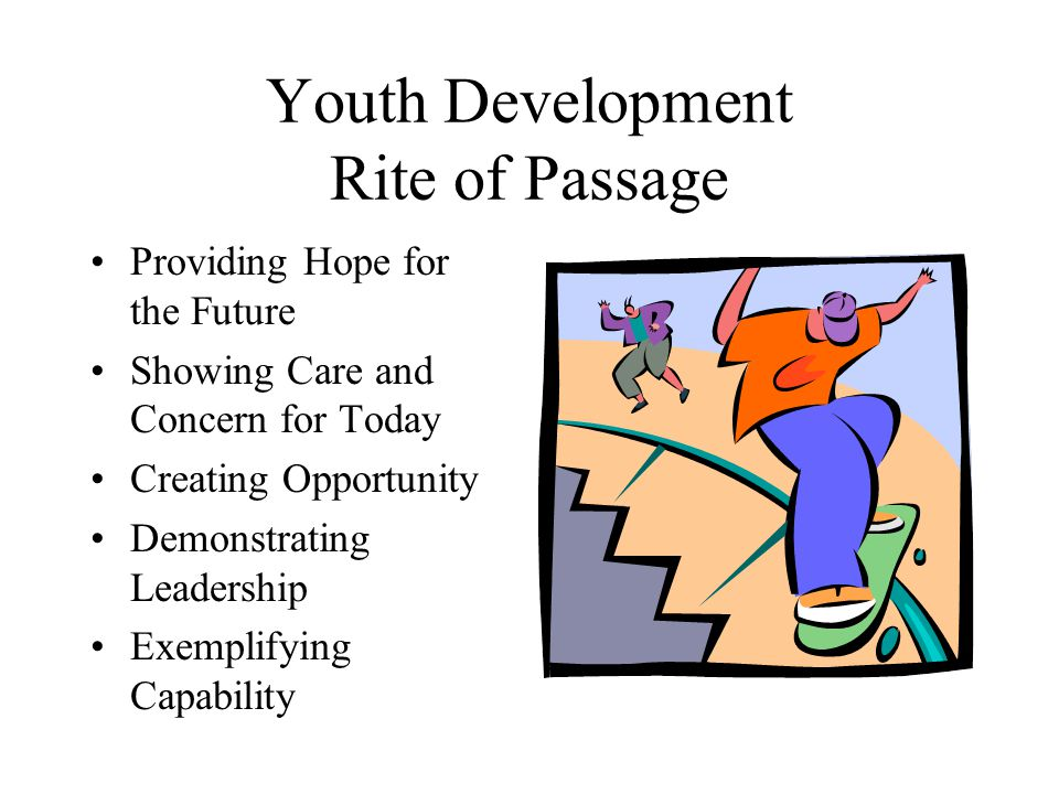 Youth Development Rite of Passage