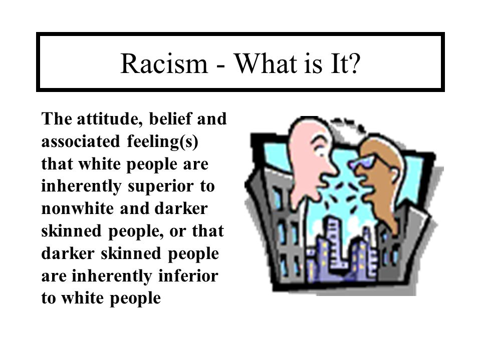 Racism - What is It