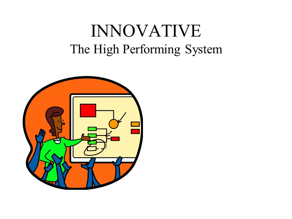 INNOVATIVE The High Performing System