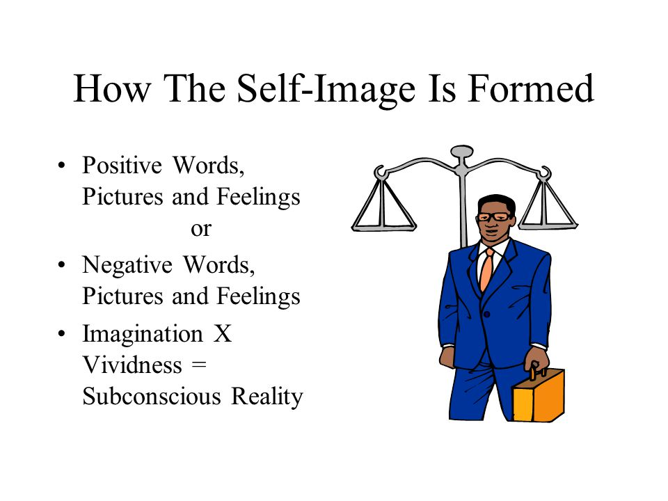 How The Self-Image Is Formed