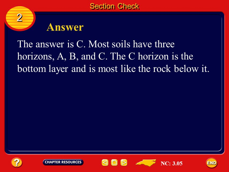 Section Check 2. Answer.